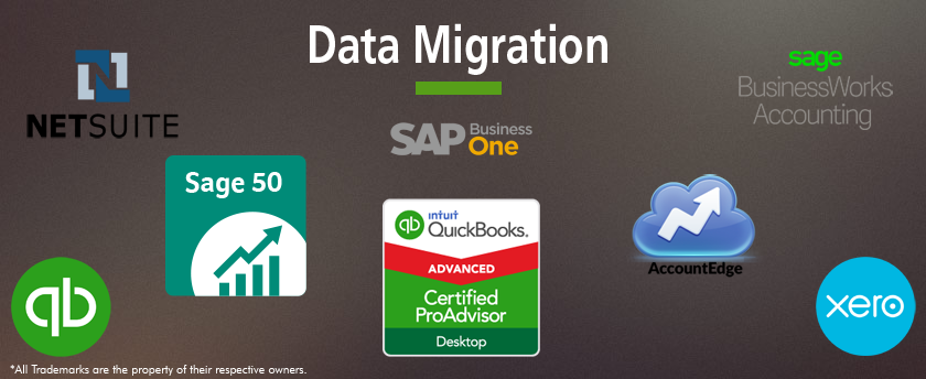 quickbooks data migration, repair & data services